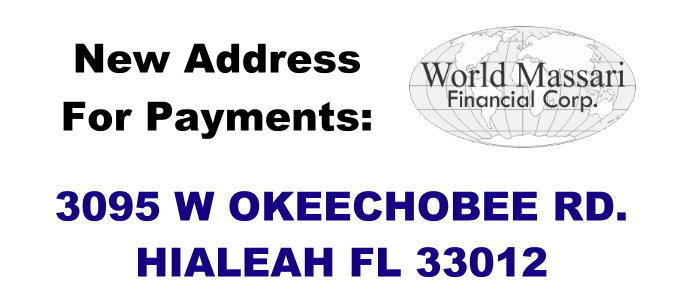 New Location for Payments